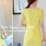 Đầm suông ren cao cấp giá rẻ