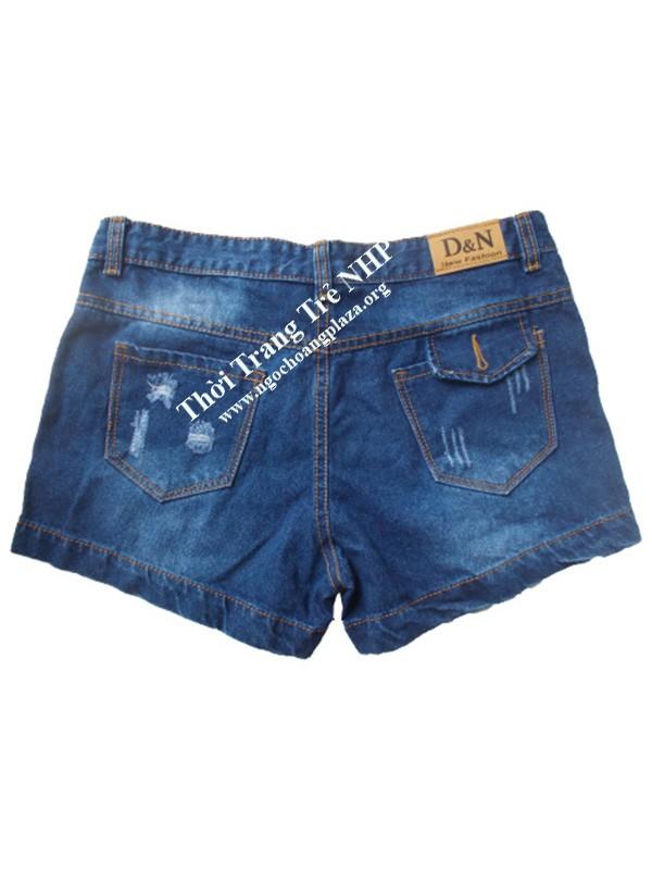 Shop quần short jean nữ cao cấp giá rẻ