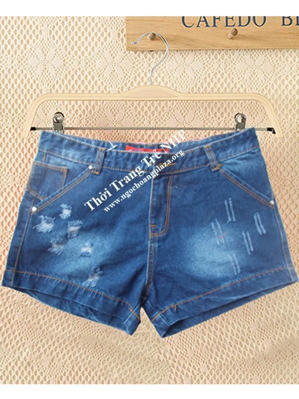Quần short jean nữ cao cấp giá rẻ