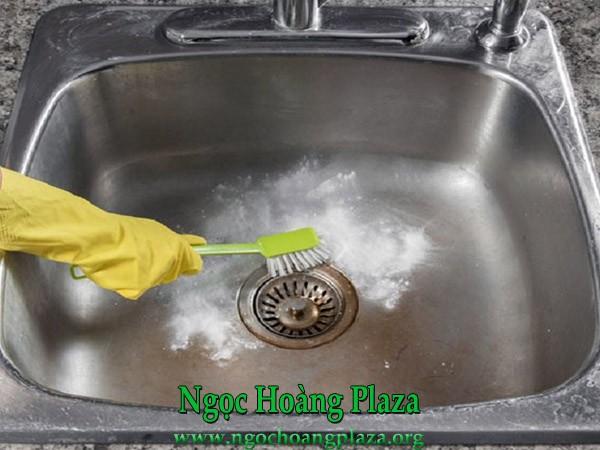 Thông tắc chậu rửa bát tại tphcm